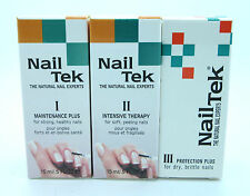 Nail Tek Set of 3 Maintenance Plus, Intensive Therapy II & Protection Plus III