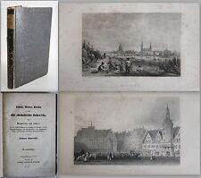 Sporschil -Leipzig, Meissen, Dresden u. die sächsische Schweiz Wegweiser um 1860