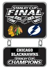 2015 NHL Stanley Cup Final Finals Champions Pin Chicago Blackhawks