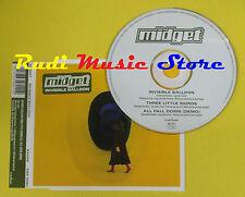 CD Singolo MIDGET Invisible Balloon England RADARSCOPE 1998 no lp mc dvd (S15)