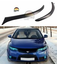 Eyelids eyebrows for KIA Forte / Shuma / Koup 2008-2013 Headlights cover eyelash
