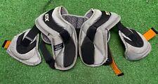 Stx Junior Lacrosse Shoulder Pads Gray
