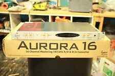 Lynx Aurora16 w/ AES/EBU & AVID HD I/O Card Installed - Mixing/Mastering Quality