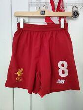Liverpool Fc New Balance 2017/18 Football Soccer Shorts Mens S Premier League