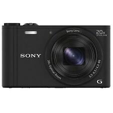 Sony Cyber-shot DSC-WX350 18.2MP Digital Camera - Black (Kit w/ 4.3-86mm Lens)