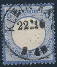 D.Reich Nr. 20 gestempelt K1 KLEIN-KATZ 22/10 = NEUER POSTORT (38394)