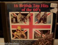 CD 16 British Top Hits of the 60s Musik music