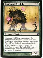 Magic Commander 2013 - 4x Deadwood Treefolk