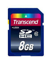 8 Go Transcend Ultimate SDHC CL10 Secure Digital Carte Mémoire