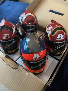 Jeff Gordon Autographed 24Ever Set Of 4 1:3 Mini Helmet