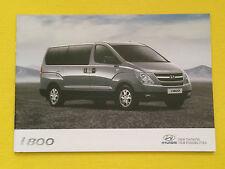 Hyundai iLoad & i800 official sales brochure x 2 catalogue October 2014 MINT