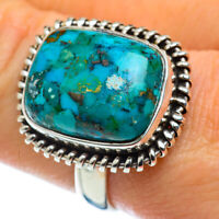 Chrysocolla 925 Sterling Silver Ring Size 9 Ana Co Jewelry R48803F