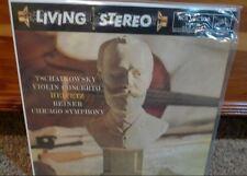 Classic Records Reissue 180 GM LP Heifitz/Reiner Tschaikovsky LSC-2129 *RARE