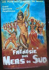 "OKLEY ""FRENESIE DES MERS DU SUD""  AFFICHE"