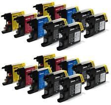20 x Cartuchos compatibles con Brother Non-oem para Lc1220 Lc1240 MFC J6510DW