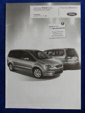 Ford Galaxy Viva Editionsmodell - Preisliste - Prospekt Brochure 09.2010