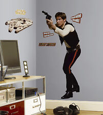 HAN SOLO Giant Wall Stickers Mural CLASSIC STAR WARS MOVIE Decals Harrison Ford