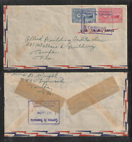 1949 VENEZUELA PHILATELIC COVER w/ GREAT BOXED STAMPS