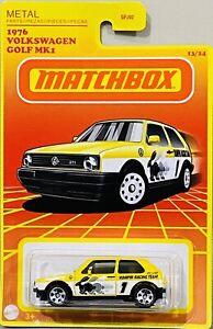 Matchbox Retro 1976 Volkswagen Golf MK1 Yellow 2021 New Release