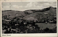 Weinort Durbach Baden Württemberg Postkarte ~1950/60 Gesamtansicht mit Umgebung