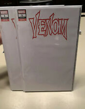 VENOM #1 2018 Blank Sketch Variant NM Clean LOT OF 2 COPIES Donny Cates