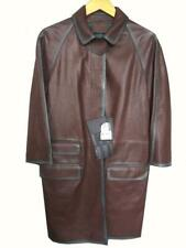 Prada Leather Coat Trench Coat Jacket Nappa Bicolore £2750 Brand New Vintage