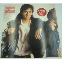 JEAN-JACQUES GOLDMAN non homologué LP 1985 Epic - je marche seul/je te donne