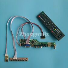 T.V56 controller board DIY kit for B156XW02 V2 HW1A/4A/5A WLED LVDS 40Pin panel