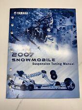 Yamaha 2007 Snowmobile Suspension Tuning Manual Lit-Suspn-Tn-07