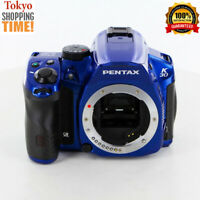 Pentax K-30 Digital SLR Camera Crystal Blue Body from Japan