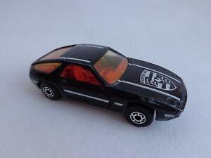 Matchbox Lesney Superfast No59 Porsche 928 PALE Amber Windows / LIGHT Red Int
