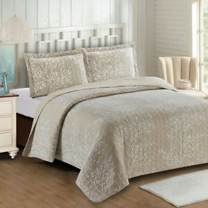 Odette Reversible Coverlets Oversized Quilt Set