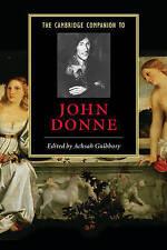 The Cambridge Companion to John Donne (Cambridge Companions to-ExLibrary