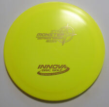 OOP 169g Innova Monster Star Disc Golf Distance Driver Yellow - Gold