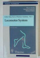 Kahle Leonhardt Platzer Locomotor System Color Atlas Human Anatomy Vol.1 B-13785