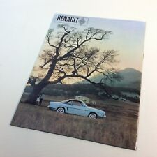 Genuine Original RENAULT FLORIDE Sales Brochure / Book