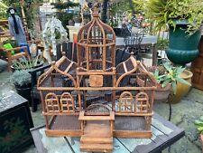 Antique vtg victorian bird cage