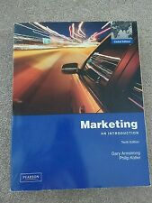 Marketing: an introduction (tenth edition) by Gary Armstrong and Philip Kotler