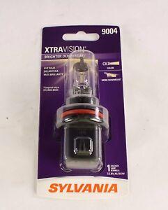 New 9004 Sylvania Xtravision Brighter Downroad Halogen Lamp Bulb