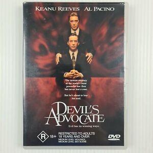 Devil's Advocate DVD - Keanu Reeves, Al Pacino - Region 4 - TRACKED POST