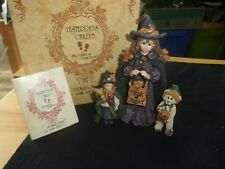"""Boyds """"Yesterdays Child """"Mallory With Patsy And Jb /Trick Or Treat 2E/4178"""