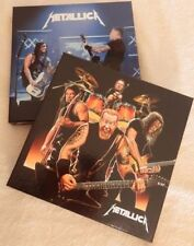 metallica 2 BOX SET 3lp picture each numbered 300 copies