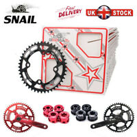 SNAIL 44-52T MTB Bike Single Speed Chainring Narrow Wide 104BCD Chainwheel Bolts