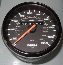 Porsche Turbo USA Tacho Geschwindigkeitsanzeige Speedometer 964 993  NEU 320km/h