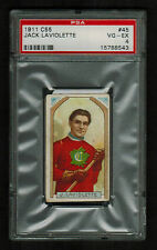 PSA 4 JACK LaVIOLETTE 1911 C55 Hockey Card #45