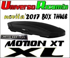 Box Da Tetto Thule Motion XT (XL) Nero Opaco 500 Litri (Limited Edition)