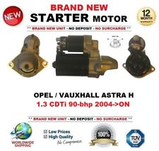 FOR OPEL VAUXHALL ASTRA H 1.3 CDTi 90-bhp 2004->ON STARTER MOTOR 1.1 kW 9 Teeth