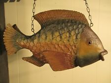 """""""Fish"""" Replacement Sign - 3-D Resin Sign for Country Arrow Holders"""