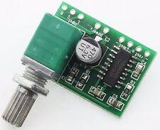 Amplificateur audio 3W pam 8403 + volume control envoi de France