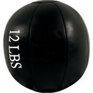 12 LB Leather Medicine Ball, New, Fast Shipping